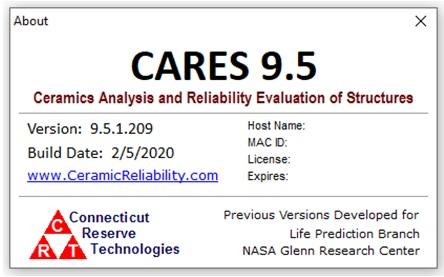 Ceramic Reliability - Software - CARES